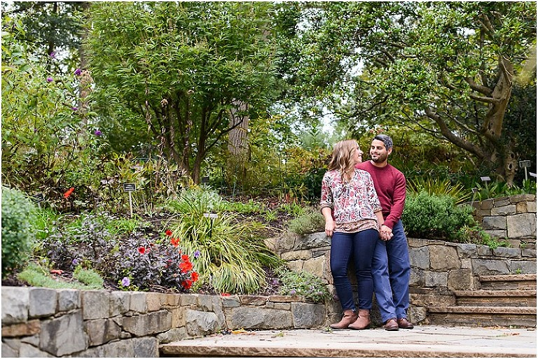 Melody and Chris\'s Brookside Gardens Engagement - Lauren C ...