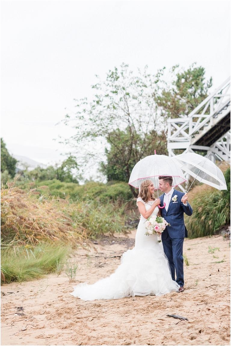 Chesapeake Bay Beach Club Nautical Rainy Wedding 101